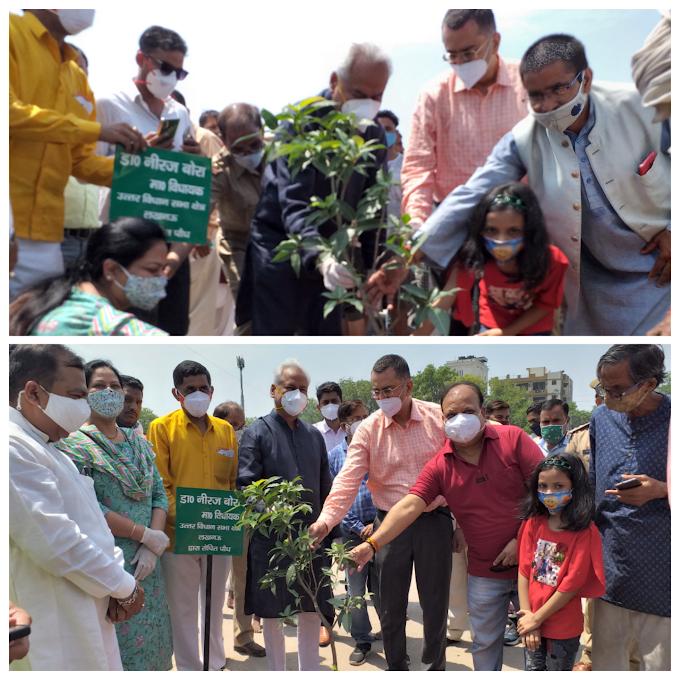 नानाजी देशमुख वाटिका : नक्षत्रों का महत्व बताएंगे 27 किस्म के पौधे