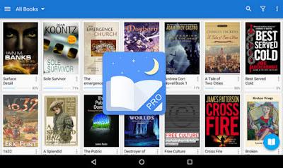 تطبيق Moon+ Reader Pro للأندرويد, تطبيق Moon+ Reader Pro مدفوع للأندرويد, Moon+ Reader Pro apk