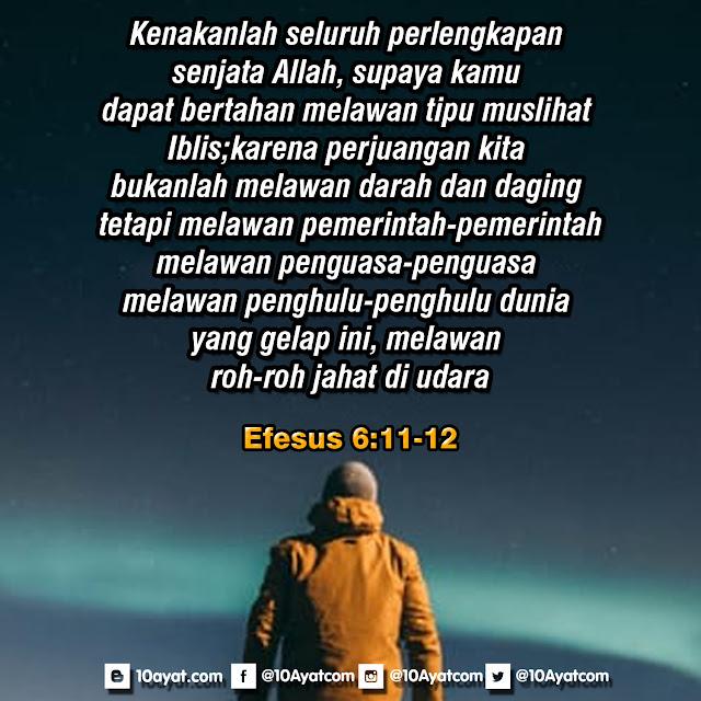 Efesus 6: 11-12