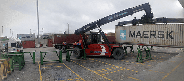 Tarif penumpukan container JICT