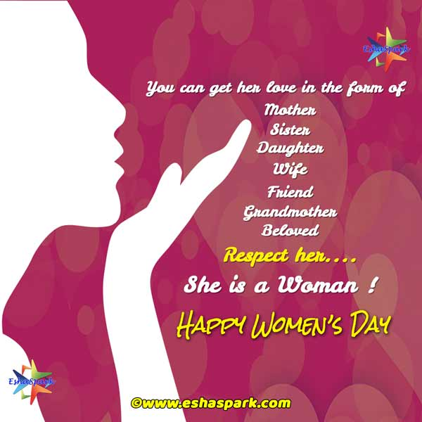 Happy Womens Day 2020