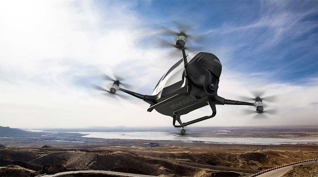 Dubai announces the arrival of the drones-taxi in July, but we have not yet seen them fly with people