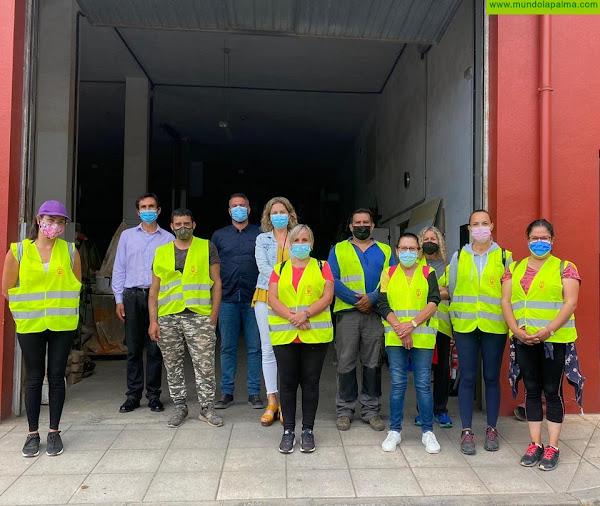 El Ayuntamiento de Tijarafe contrata 10 personas a través del FDCAN