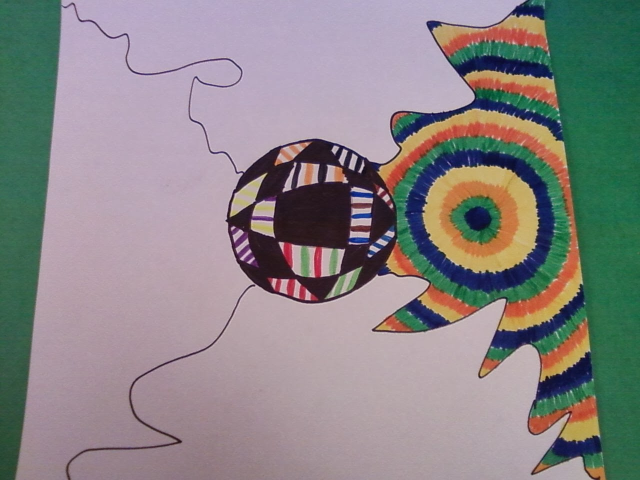 Ppps Elementary Art Rooms Optical Illusion Optical Art