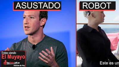 Facebook esta asustando, facebook, Will Smith,Will Smith 2018, noticias, el muyayo, las mejores noticias, exoesqueleto, sofia robot