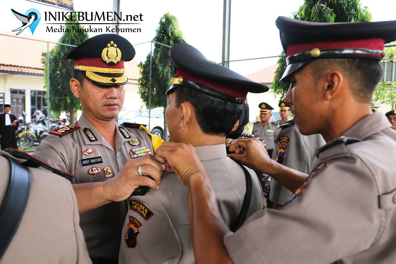 Lima Pejabat Polres Kebumen Diganti