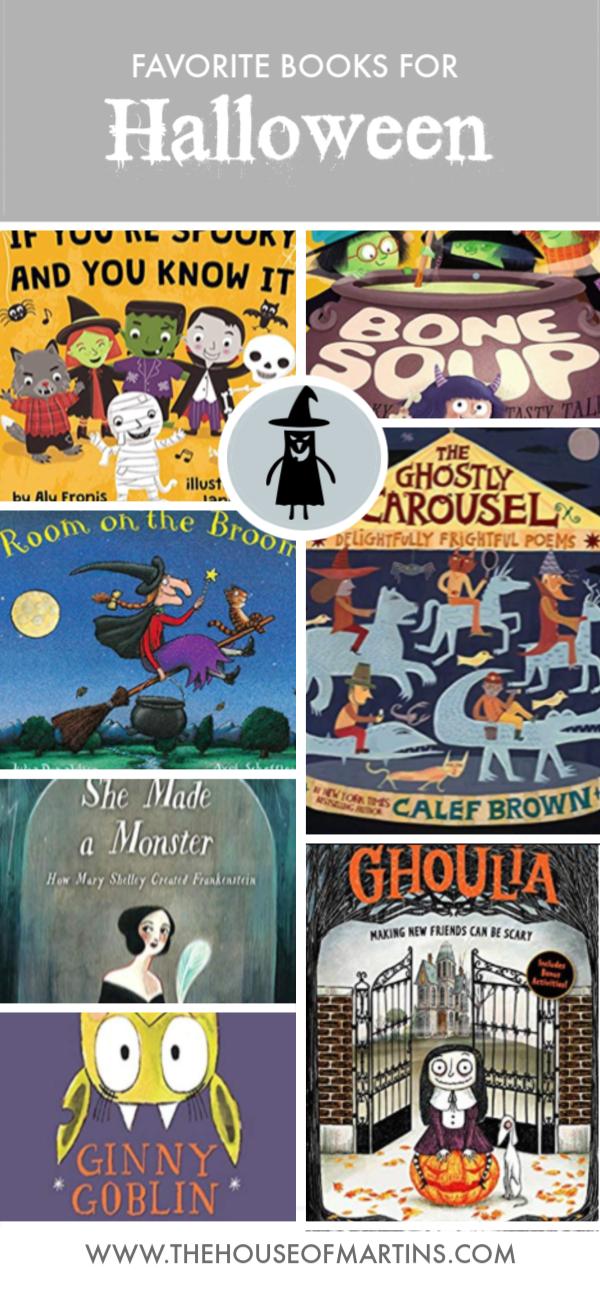 Halloween Books for Your Little Goblins