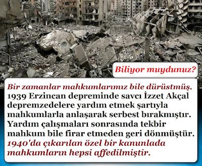 deprem, rihter ölçeği, deprem şiddeti, erzincan depremi, büyük deprem, erzincan depremi mahkum hikayesi, dürüst mahkumlar, deprem ölü sayısı, yıkıntılar, harap şehir