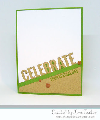 Celebrate Your Special Day card-designed by Lori Tecler/Inking Aloud-stamps and dies from My Favorite Things