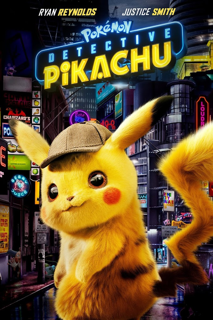 Pokemon Detective Pikachu 2019 Dual Audio ORG Hindi 480p BluRay 720p