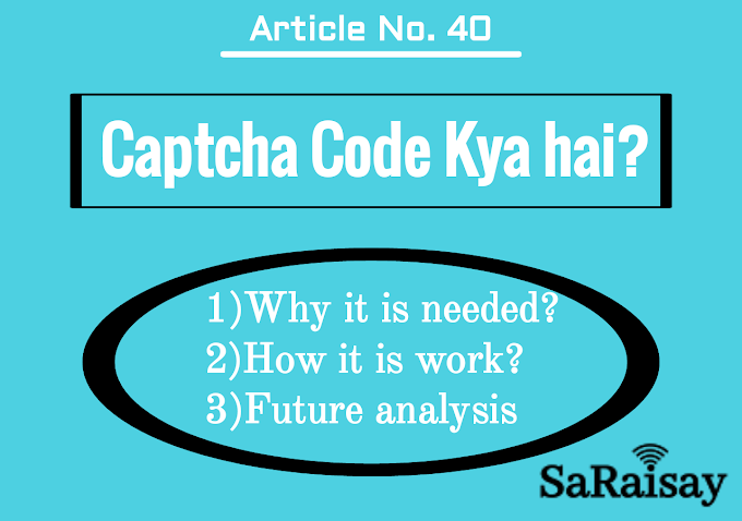 Captcha code Meaning in Hindi।Captcha क्या होता है।Types of Captcha।