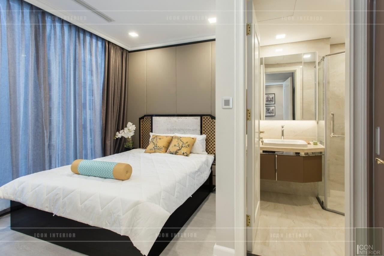 Phòng ngủ chính Vinhomes Golden River