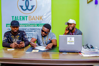 GX GOSSIP: MC Spinosky signs a deal with Talent Bank Nigeria