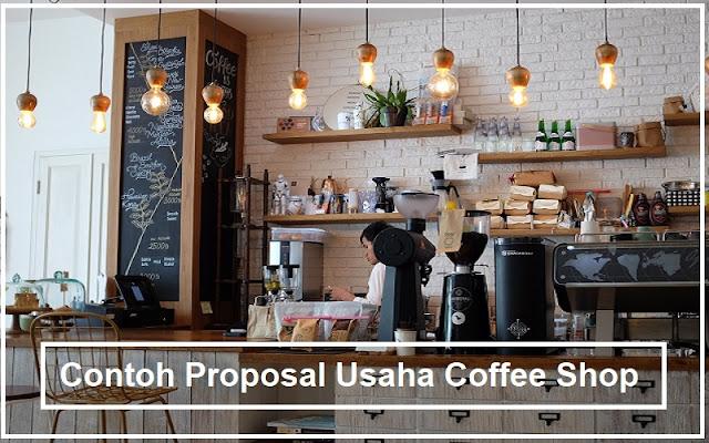 proposal usaha coffe shop