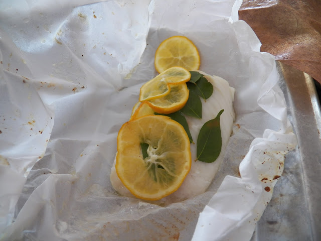 Cod - Danish Style en Papillote for #FishFridayFoodies