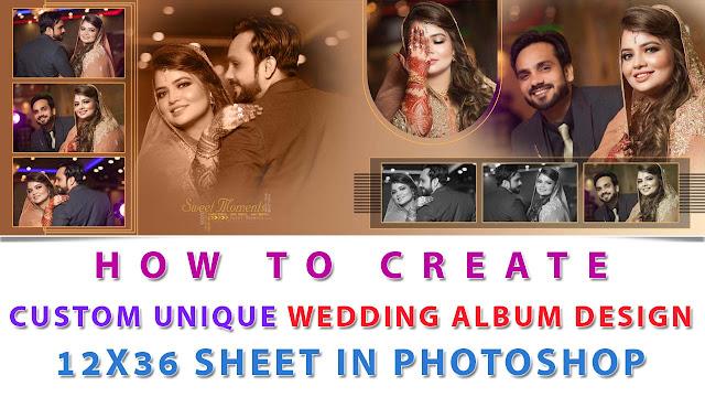 Unique Wedding Album Design