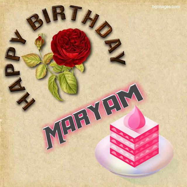 happy birthday maryam download