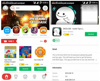 In every corner of every streets at 1 time people held Android devices Indophoneboy four Top Free Android App Market - Your Play Store Alternative