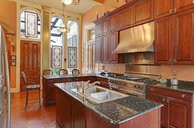 Anne Rice Mansion Custom Millwork Kitchen New Orleans