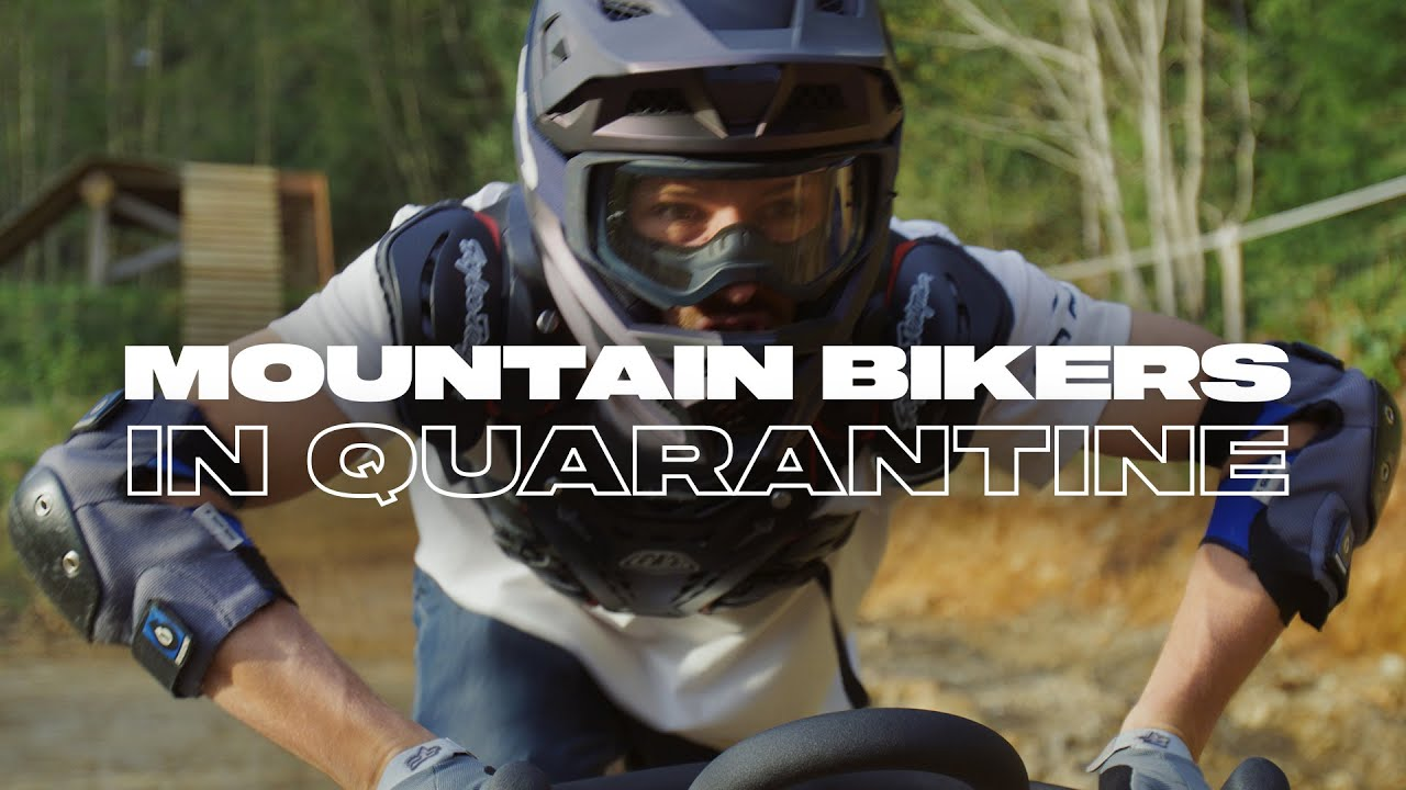 Mountain Bikers na Quarentena