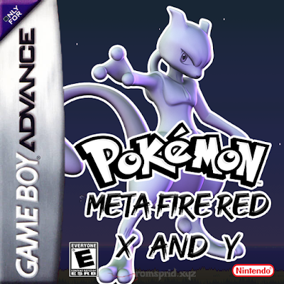 Pokemon Meta Fire Red X and Y GBA ROM Hack Download
