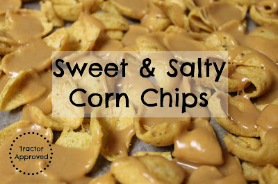 Back to School Snack Mix Recipes - Sweet & Salty Corn Chips