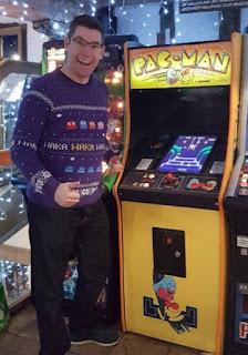 My Pac-Man Christmas jumper