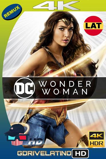 La Mujer Maravilla (2017) BDRemux 4K HDR Latino-Ingles MKV