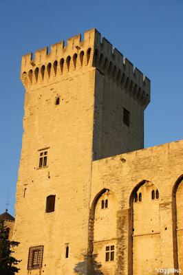 Una delle Torri del centro storico di Avignone