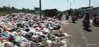 Sampah Numpuk Lagi Di Samping Pasar Pasalaran