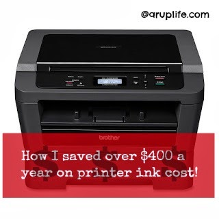 printer laser saving money homeschool