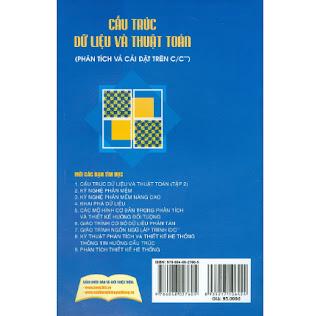 Cấu Trúc Dữ Liệu Và Thuật Toán (Phân Tích Và Cài Đặt Trên C/C++) - Tập 1 ebook PDF EPUB AWZ3 PRC MOBI