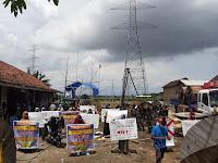 Warga Kedungwinong Pati Tolak Proyek SUTET