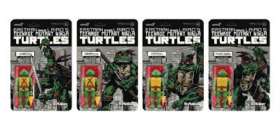 Teenage Mutant Ninja Turtles Mirage Variant ReAction Figure Set by Super7