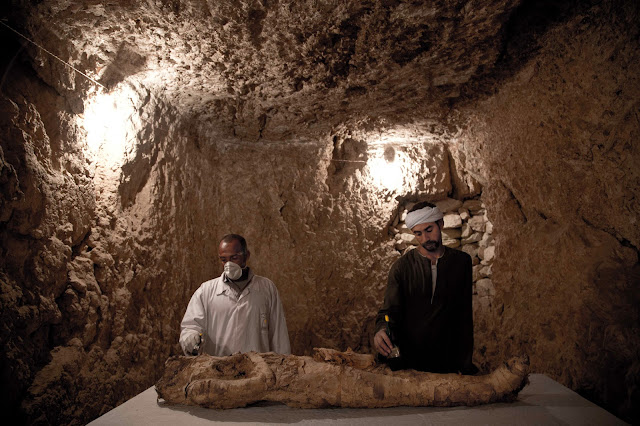 Two New Kingdom tombs opened at Luxor necropolis
