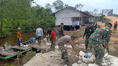 Pembangunan Semenisasi Jalan Kampung Aman Berjalan Aman dan Kondusif