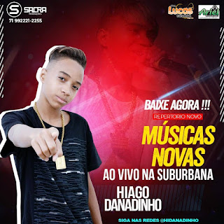 HIAGO DANADINHO - CD AO VIVO HAVANNA SPORT BAR - 2018
