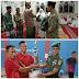 Pererat Silatulrahmi, Kapten Infantri Saiful Arif Bagikan Sembako dan Gelar Turnamen Antar Pemuda