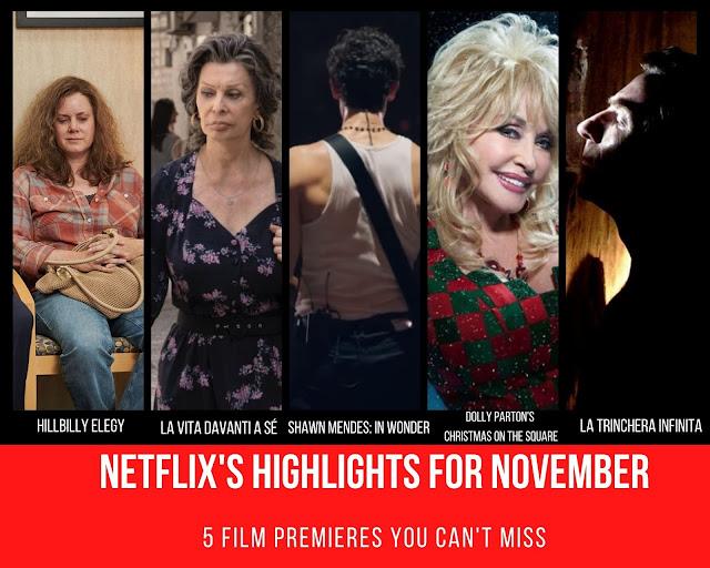 5 Filmes Para Descobrir na Netflix em Novembro