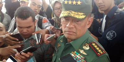 Prabowo- Gatot Bakal Jadi lawan Kuat Jokowi DI Pilpres 2019, PDIP Panik