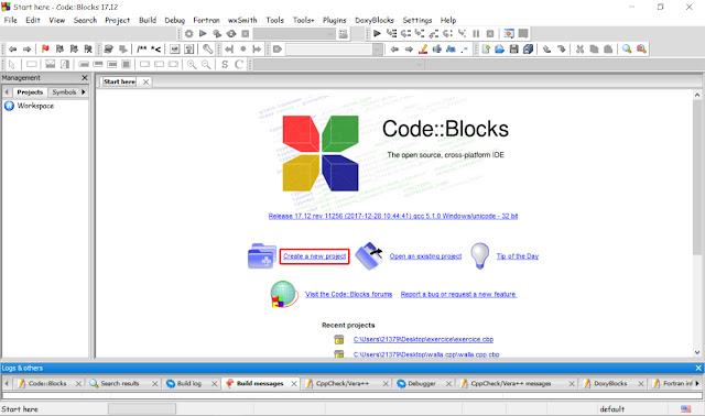 برنامج code blocks