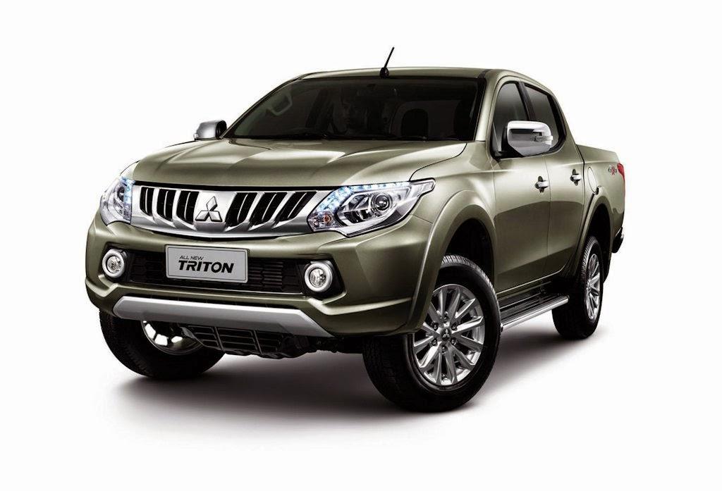 Updated 2015 Mitsubishi Strada Unveiled Philippine Car