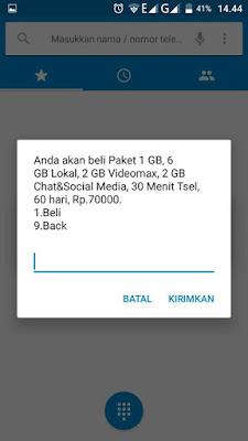 Paket Internet Vaganza Telkomsel