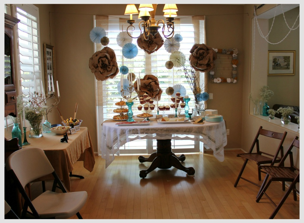 Ma Nouvelle Mode Boy Baby Shower Decorations and Menu