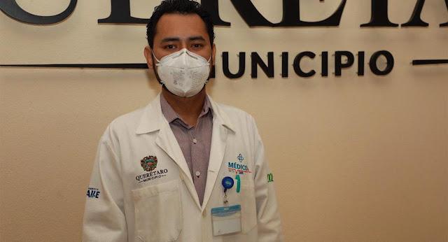Inicia Municipio de Querétaro pruebas COVID-19 en el programa Médico en tu Calle