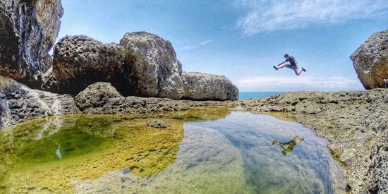 Tempat Wisata Teluk Bidadari Malang
