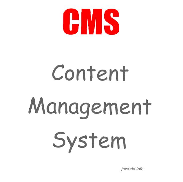 CMS Full form