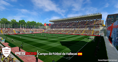 PES 2019 Stadium Campo de Fútbol de Vallecas by Arthur Torres