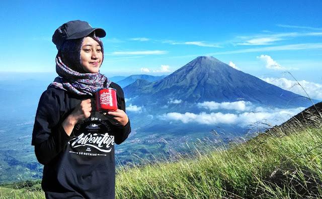 foto instragram Siska Kusmayanti, pendaki cantik