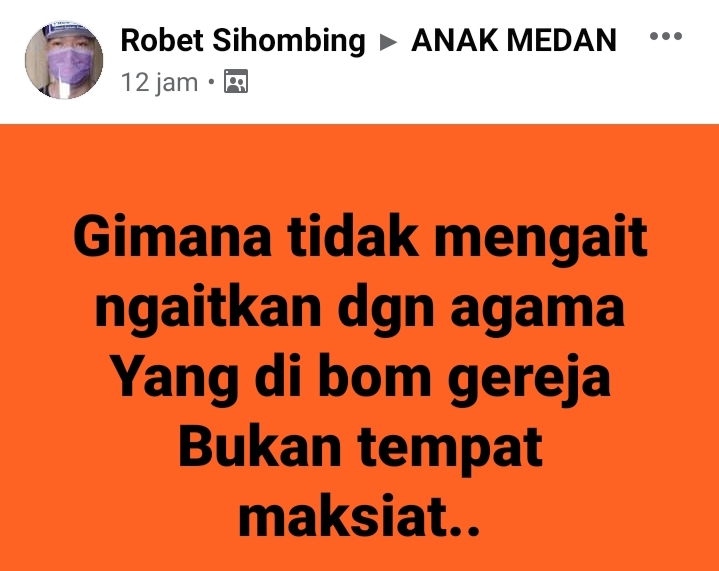 Grup facebook Anak Medan